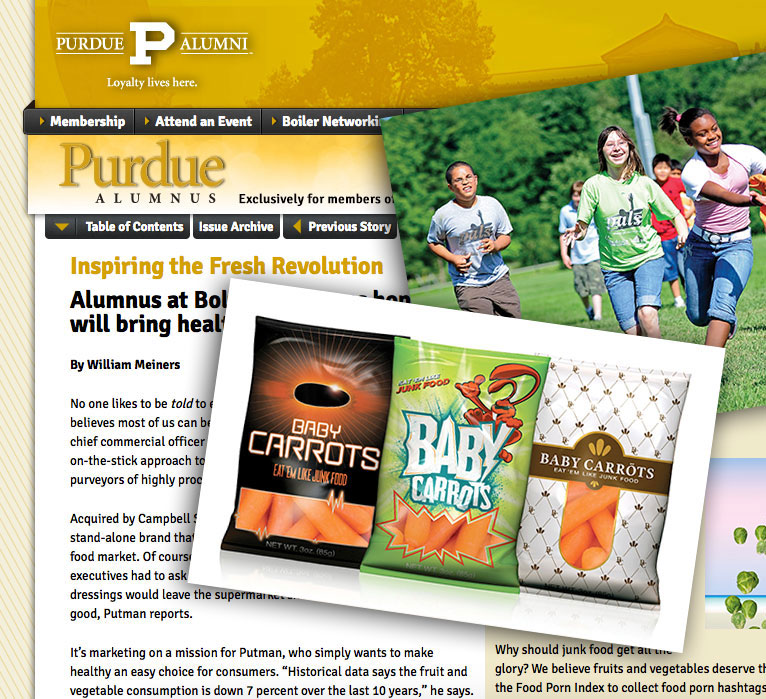 Inspiring the Fresh Revolution Purdue Alumnus